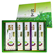 土山の露〔土山茶(かぶせ茶)90g×3個、特上かりがね90g×2個〕