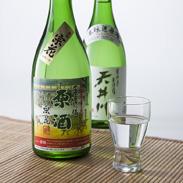 天井川 原酒2本セット 古川酒造有限会社 滋賀県 旧東海道草津宿。地元に現存する唯一の酒蔵の原酒の詰め合わせ。