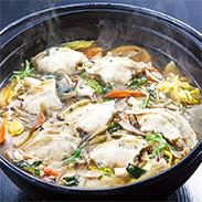 せんべい汁セット 株式会社小松製菓 岩手県 B級グルメとして有名なせんべい汁専用のせんべい「かやき」とせんべい汁スープのセット。