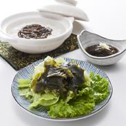 袰月天然岩わかめ・岩もずく・藻もずくセット 合同会社袰月海宝 青森県 津軽海峡の荒波にもまれて育った味わい深い天然海藻。