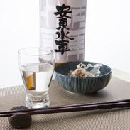 純米吟醸「安東水軍」 尾崎酒造株式会社 青森県 仕込水に白神山地の湧き水を使用。2011年鑑評会入賞の青森の地酒。