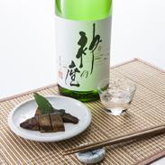 吟醸酒「神の座」 尾崎酒造株式会社  青森県 白神山地の湧き水で醸した吟醸酒。故・森繁久弥氏が命名・揮毫しました。[吟醸酒]