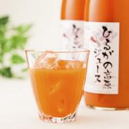 ひるがの高原にんじんジュース2本セット 株式会社ひるがのドリーム 岐阜県 雪の下で糖分を蓄えた春待ちにんじん100%のジュース。
