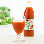 桃太郎トマトジュース 有限会社マルオリ 岐阜県 飛騨高山で育った完熟桃太郎トマト100%、無塩で仕上げたジュースです。