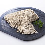 うすずみ豆乳蕎麦 有限会社住吉屋 自家栽培・手打ち・十割の蕎麦粉に石臼挽きの豆乳を練りこんで仕上げました。