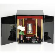 想い入れ箱(観音開き) 有限会社瑞光堂 鹿児島県 コンパクトなキューブ型デザイン。リビングにも飾りやすい仏壇です。