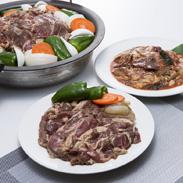 大川の激辛ホルモン&ジンギスカンセット 有限会社大川商店 北海道 いろいろな部位を楽しめるホルモンと柔らかラム肉のジンギスカン。