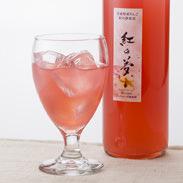 紅の夢りんごジュース(赤)化粧箱付き いっちゃん林檎農園 青森県 限定生産品。果肉まで赤いりんご「紅の夢」100%ジュース