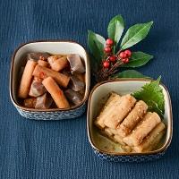 カネハツ食品 手づくりの美味しさ ニッポンのおふくろの味 こんにゃく牛蒡とたたきごぼう〔2種×各1〕