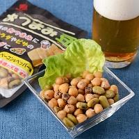 カネハツ食品 手づくりの美味しさ ニッポンのおふくろの味 おつまみ豆と塩えんどうセット〔2種×各3〕