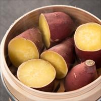 サラダファイブ 濃い甘みとなめらか食感 茨城県産 ブランド紅はるか(紅ゆうか)生芋 Mサイズ〔2kg〕