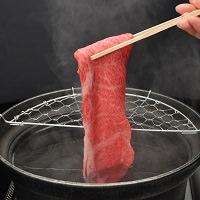 松阪まるよし 松阪牛しゃぶしゃぶ用スライス肉(ロース・肩ロース)〔400g〕