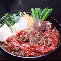 松坂まるよし お祝いやおもてなしに確かな品質のブランド肉を 松阪牛すき焼き 肩肉 モモ肉〔200g〕