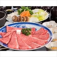 松阪牛 すき焼き用 ロース・肩ロース 木箱入 贈答用 〔400g〕 牛肉 三重 松阪まるよし