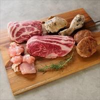 みんなの会社 前田牧場のファーマーズBBQ焼肉セット 2〜3人前800g〔牛豚鶏肉70g×各2他全5種・たれ30g×2〕