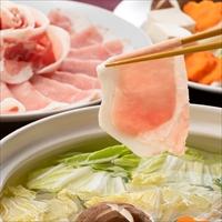 ピーチポークしゃぶしゃぶセット1kg 〔豚肉スライス500g×2、くめなん柚子塩ぽん酢200g×2〕 岡山県 豚肉料理