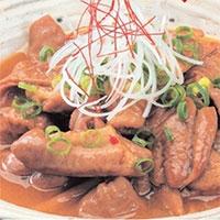やわらか味噌煮込みホルモン4袋セット 〔200g×4〕 秋田県 レトルト惣菜 こまち食品工業