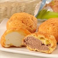乳蔵北海道シュークリーム2種10個セット〔ミルク×5・チョコ×5〕