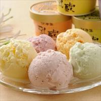 乳蔵 北海道アイスクリーム18個 〔バニラ・ストロベリー・ハスカップ×各4、赤肉メロン・青肉メロン×各3〕 北海道産 アイス詰め合わせ