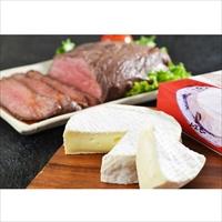北海道ローストビーフ カマンベールチーズT100 セット 〔ローストビーフ300g×2、ソース20g×4、チーズ110g×3〕 北海道 江戸屋