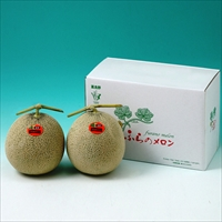 ふらのメロン 2玉 〔1.3kg×2〕 メロン フルーツ 北海道 富良野
