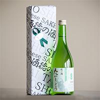 OrganicGarden 美味しい関係 純米大吟醸 徳の酒 たいしょう 徳島県産 自然栽培米使用 日本酒〔720ml〕