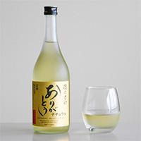 OrganicGarden 美味しい関係 純米酒 徳の酒 ありがとう ナチュラル 徳島県産 自然栽培米 日本酒〔720ml〕