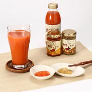 完熟にんじんと野菜ジャムの健康朝食セット | 株式会社生産者連合デコポン・千葉県