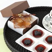 キモチイイを届ける 炭のチョコラ(4個入り) | 株式会社アスカム・静岡県
