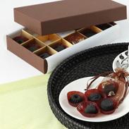 キモチイイを届ける 炭のチョコラ(12個入り) | 株式会社アスカム・静岡県