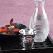 贈り物にも最適錫のぐい呑みIsago | 錫光・埼玉県