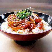 特製ごま風味の醤油ダレに漬けこんだあじごま丼・3食セット | 株式会社ヨシムラ・佐賀県