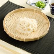 塩を一切使わず 熱湯でこねあげて作られた つるっと滑らか 本格湯ごね 『播州そうめん』 | はりま製麺株式会社・兵庫県