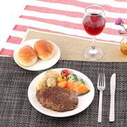 北海道の自然が育てた最上級の和牛 びらとり『和牛』100%ハンバーグ 180g×6 | びらとり和牛専門店くろべこ・北海道