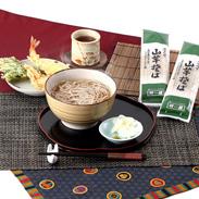 昔ながらの素朴な味わい〈山芋そば〉5袋セット | 株式会社叶屋食品・群馬県