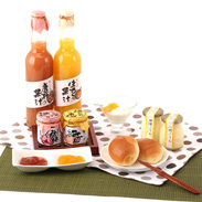 新鮮な果実の香りと食感 果実ぷりん・ジャム・ジュースセット | 万汐農園・広島県