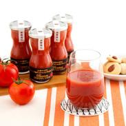 トマトの美味しさを最大限に引き出した プレミアムデリシャストマト丸しぼり 4本セット | デリシャスファーム株式会社・宮城県