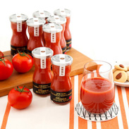 トマトの美味しさを最大限に引き出した プレミアムデリシャストマト丸しぼり 8本セット | デリシャスファーム株式会社・宮城県