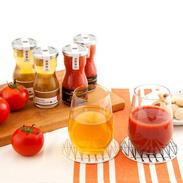 トマトの美味しさを最大限に引き出した プレミアム丸しぼり&露しずく 8本セット | デリシャスファーム株式会社・宮城県