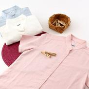 からクルシャツ(半袖)レディース からクルシャツ・新潟県