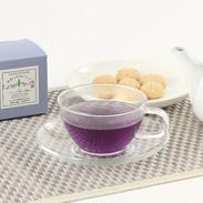 健康しょうが茶シリーズ 見た目も楽しい、からだにやさしい 〈 生姜マローブルー茶 〉 | 長治園・茨城県