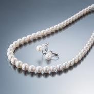 アコヤ真珠(7.0〜8.5mm珠)三重ブランド認定 ネックレスセット|有限会社大ハタパール工業・三重県