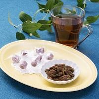 Feセンス 桑の実 桑の葉菓子 詰合 飴とナッツ〔桑の実きなこ飴330g×1・ペカンナッツ50g×2〕