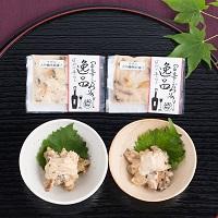 サザエ純米大吟醸洋風漬け サザエ大吟醸酒粕漬け 食べ比べセット〔35g×4〕