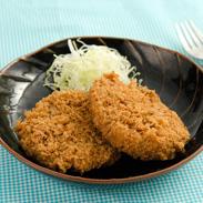 厳選した米沢牛肩ロースを使った至高の味 米沢牛メンチカツ | 株式会社本田食品・山形県