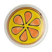 カットフルーツたちと波佐見焼のステキな出逢い〈 みかん 〉浅鉢 | 有限会社福田陶器店・長崎県