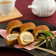 素朴な甘さがたまらない、対馬の伝統的な和菓子 かすまき 5本入り | 春田菓子店・長崎県