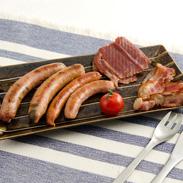 ブランド豚「越ノ光ポーク」を多彩に加工した贅沢なセットソーセージBセット 越ノ光ポーク・新潟県