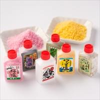 熊野の塩セットA 〔梅塩85g×1・ゆず塩85g×1、6種セット(各10g×6)×1〕 和歌山県 調味料 熊野黒潮本舗