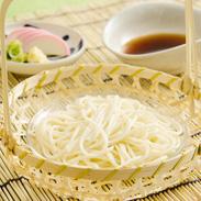 小豆島 こだわり続ける手作りの味〈 手延べそうめん・太口 〉1kg・箱 | 真砂喜之助製麺所・香川県